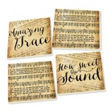 Hymns Coasters, Pack of 4