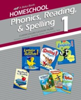 Homeschool Phonics, Reading, and Spelling 1 Curriculum Lesson Plans