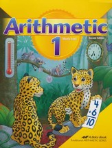 Abeka Arithmetic 1 Work-Text (New  Edition)