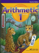Abeka Arithmetic 1 Teacher Edition  (New Edition)
