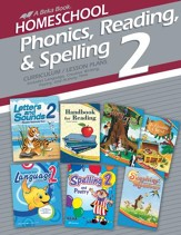 Abeka Homeschool Phonics, Reading, &  Spelling 2 Curriculum/  Lesson Plans