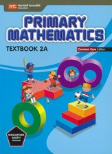 Primary Mathematics Textbook 2A  Common Core Edition