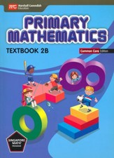 Primary Mathematics Textbook 2B Common Core Edition