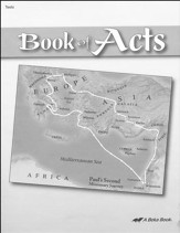 Abeka Book of Acts Tests