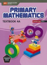 Primary Mathematics Textbook 4A Common Core Edition