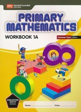 Primary Mathematics Workbook 1A Common Core Edition