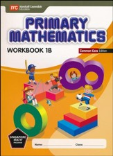 Primary Mathematics Workbook 1B Common Core Edition