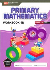 Primary Mathematics Workbook 4B Common Core Edition