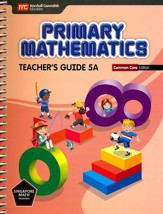 Primary Mathematics Teacher's Guide  5A Common Core  Edition