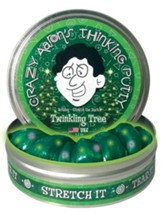Twinkling Tree, Glow-In-the-Dark Thinking Putty