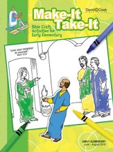 Bible-in-Life: Early Elementary Make It Take It (Craft Book), Summer 2018