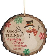 Good Tidings Of Great Joy Ornament