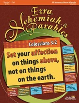 Ezra, Nehemiah & Parables Youth 1 (Grades 7-9) Memory Verse Visuals