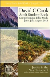 Bible-in-Life: Adult Student Book, Summer 2018