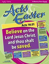 Acts & Easter Youth 1 (Grades 7-9) Memory Verse  Visuals