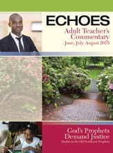 Echoes Adult Comprehensive Bible Study Image