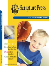 Scripture Press 2s & 3s Teaching Guide, Summer 2017