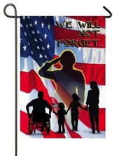Heroes, We Will Not Forget Flag, Small