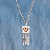Faith, Hope, Love Necklace