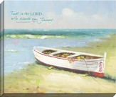 Trust In the Lord, Seaside Canvas Art, Proverbs 3:6