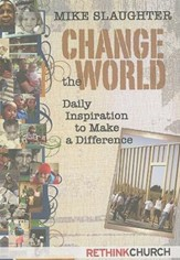 Change the World Devotional: Daily Inspiration to Make a Difference - eBook