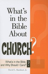 What's in the Bible About Church?: What's in the Bible and Why Should I Care? - eBook