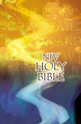 NIV Outreach Bible--softcover, God's Word - Slightly Imperfect