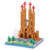 Nanoblock Sights To See, Sagrada Familia Church