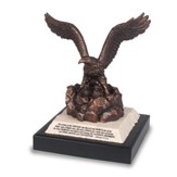 Eagle Sculptured Figure with Eaglets
