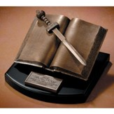 The Word of God-Bible Sculpture
