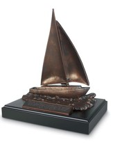 Sailboat Sculptured Figure