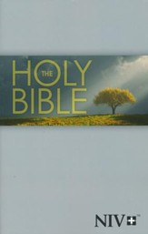 NIV Outreach Bible--softcover, tree