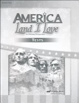Abeka America: Land I Love Tests (Updated Edition)