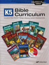 Abeka Homeschool K5 Bible Curriculum