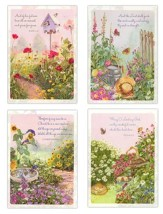 Peaceful Gardens Blank Cards, Box of 12
