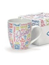 Names of Jesus Boxed Mug