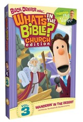 What's in the Bible? #3: Wanderin' in the Desert -   Church Edition, DVD