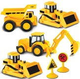 Mini Construction Set, 4 Pieces