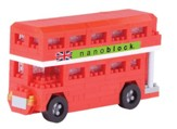 Nano Block, London Bus, Red