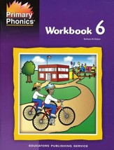 Primary Phonics Workbook 6 (Homeschool Edition)