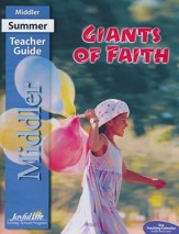 Giants of Faith Middler (Grades 3-4) Teacher Guide