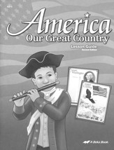 Abeka America Our Great Country Lesson Guide