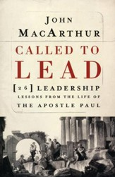 Called To Lead (slightly imperfect)