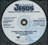 It's All Because of Jesus, Split-Track, Accompaniment CD