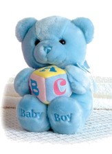Comfy Baby Boy ABC Musical Bear