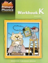 Primary Phonics Consonant Lessons  Workbook K (Homeschool  Edition)