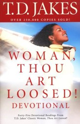 Woman, Thou Art Loosed Devotional, repackaged