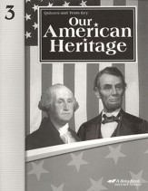Abeka Our American Heritage Quiz and Test Key