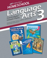 Homeschool Language Arts 3 Curriculum/Lesson Plans