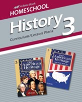 Abeka Homeschool History 3: Our  American Heritage  Curriculum/ Lesson Plans